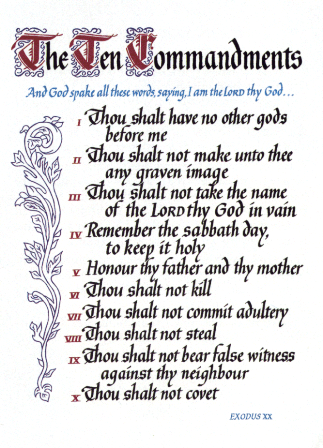 10-commandments-for-doorposts